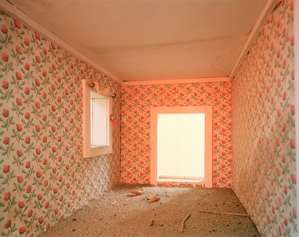 Room of Roses, Abandoned Doll House, Patterson, NY, 2015 ,  Yoav Friedländer