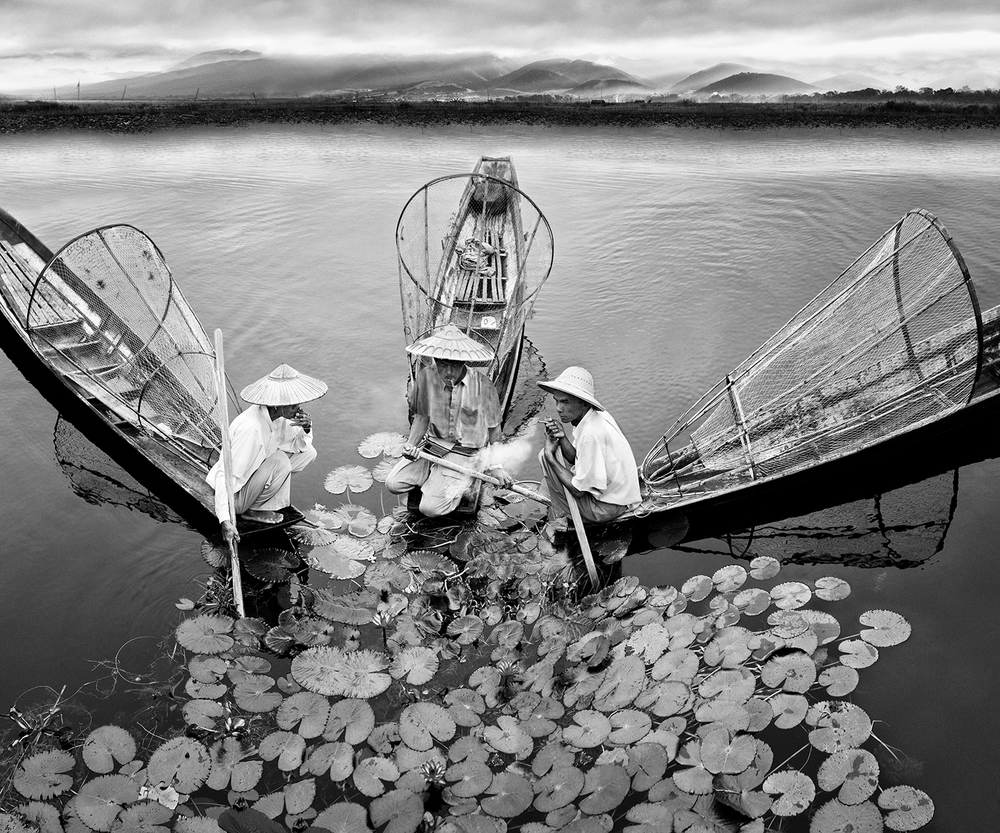 Fishing Break  from the series  Consequences, Myanmar, 2014 ,  Oliver Klink
