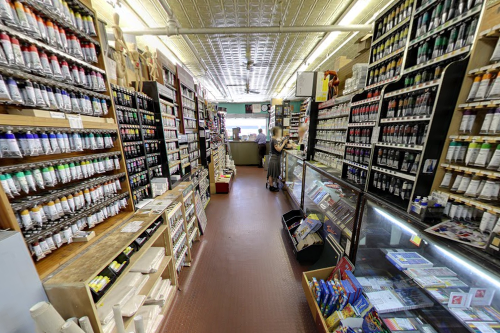 Inside of New York Central Art Supply Inc. Photo: Google Maps