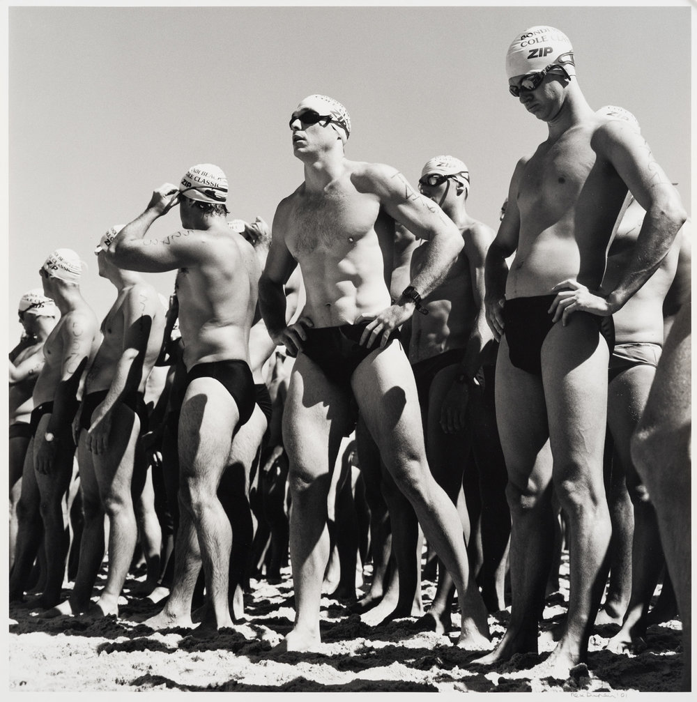 Rex Dupain,  Surf Race, Bondi , 2001 © Rex Daupin, MOPA's Peter and Olivia Farrell Australian Photography Collection