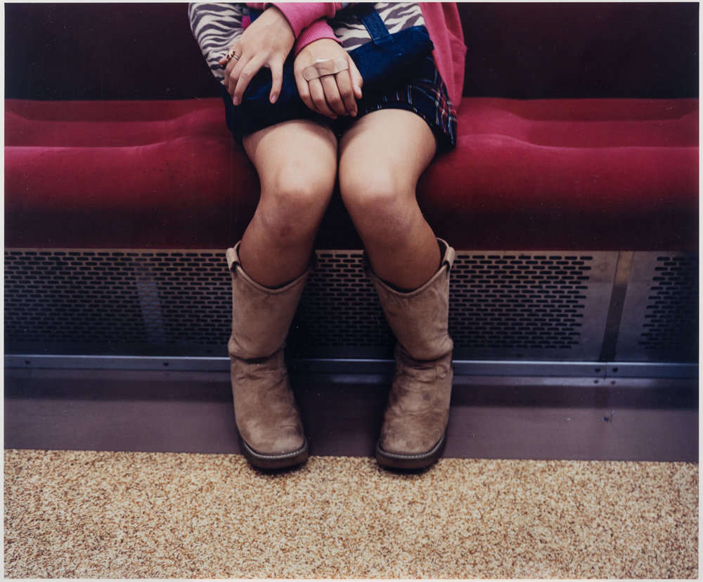 Matthew Sleeth,  Feet #5 , 2002 © Matthew Sleeth, courtesy of the artist, Claire Oliver Gallery, New York, and MOPA's Peter and Olivia Farrell Australian Photography Collection
