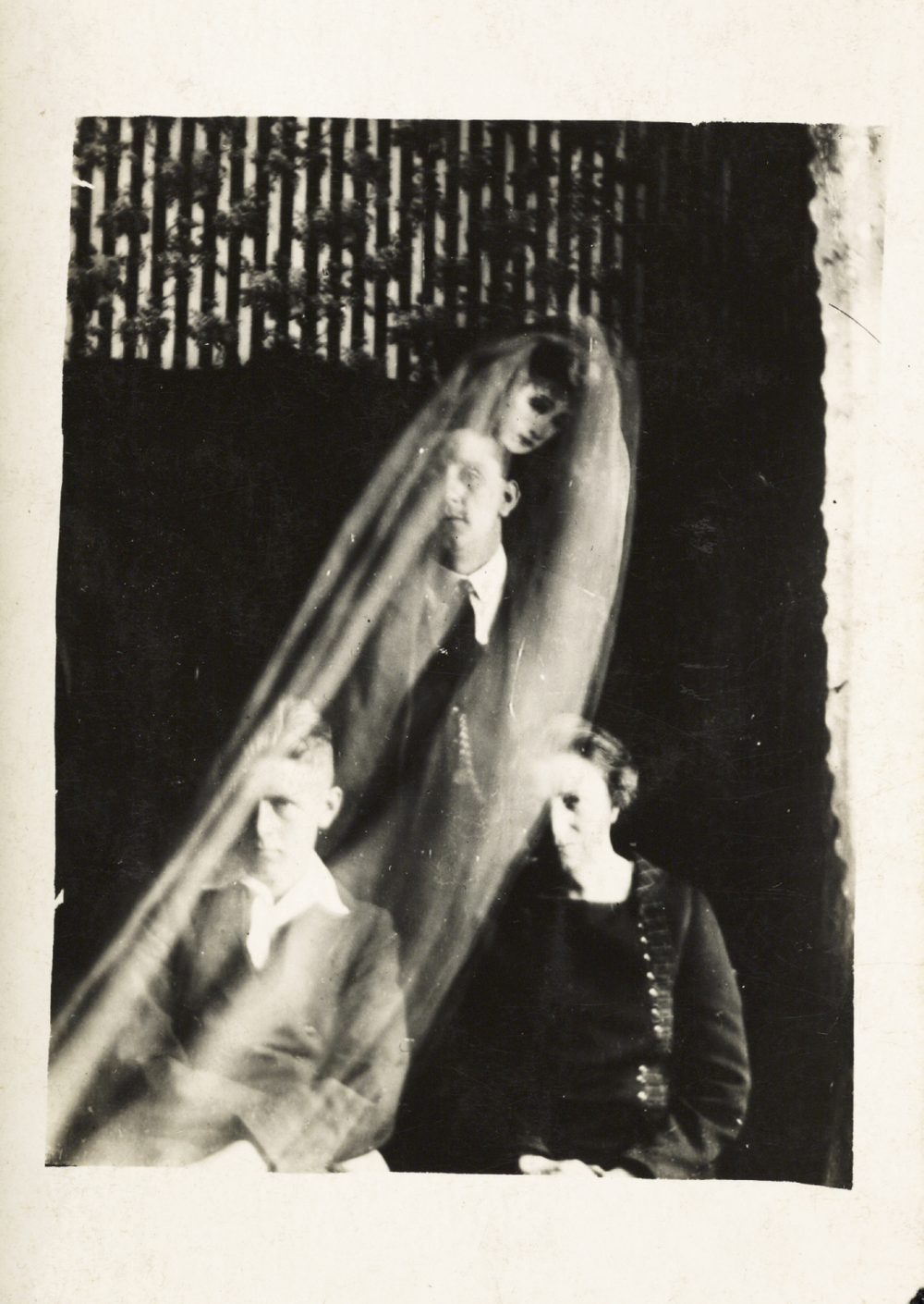 Spirit photograph by William Hope, c. 1920