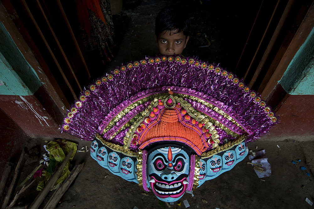 Chhau Mask #1