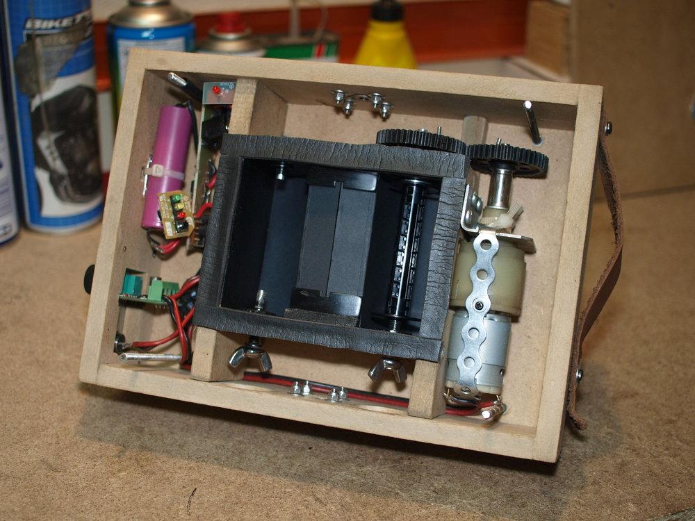 Slit-scan camera (interior)