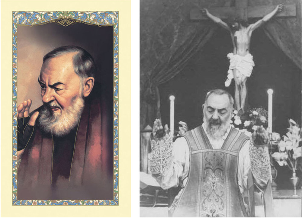 Saint Pio of Pietrelcina  (1887 – 1968). Canonized: 2002. Photo: c. 1940s