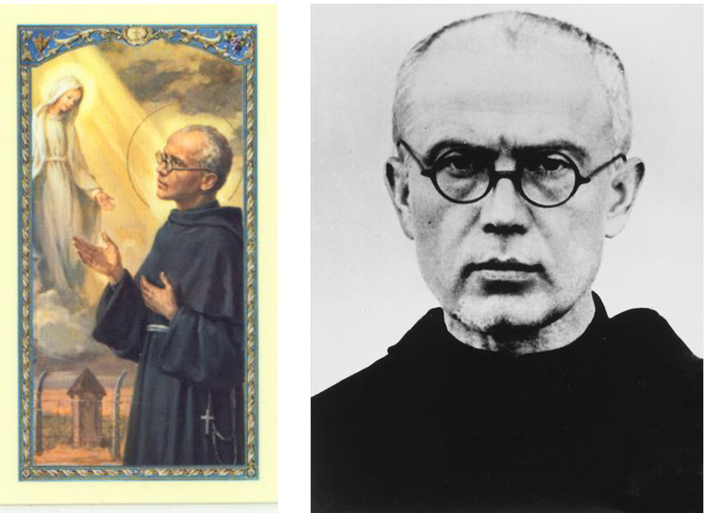 Saint Maximilian Kolbe  (1894 – 1941). Canonized: 1982. Photo: 1939