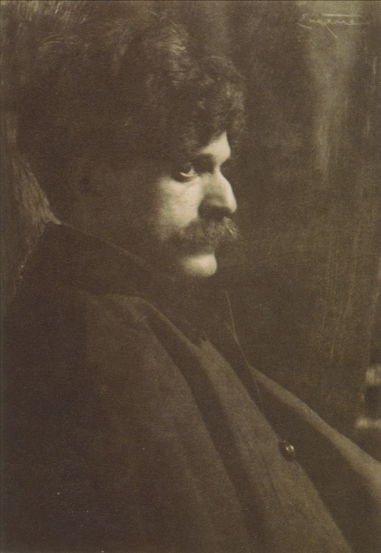 Frank Eugene, Portrait of Alfred Stieglitz, 1901. Photogravure.
