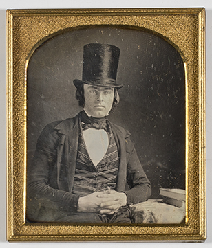 Thomas Olney Pike . Daguerreotype, Connecticut, ca. 1845. Gift of Susan  Pike Corcoran , 2016.