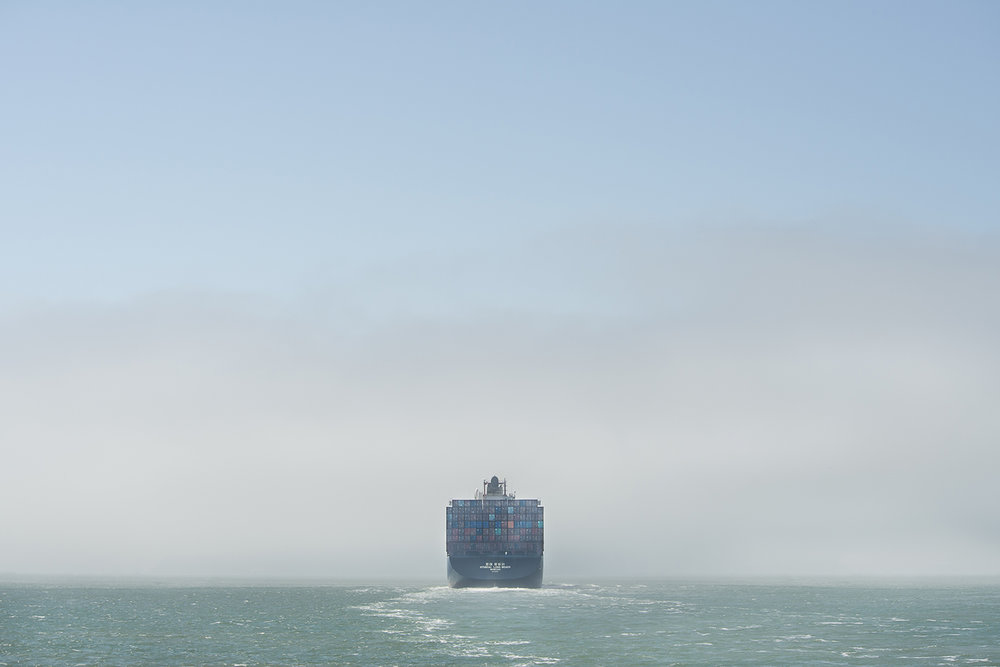Cargo, Pacific Ocean, 2014