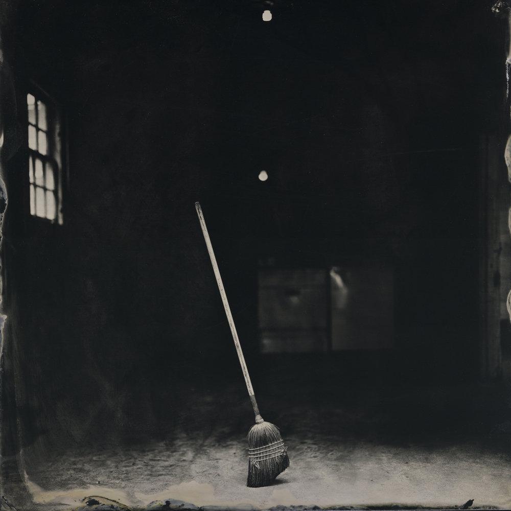 Standing Broom ,  Frank Hamrick