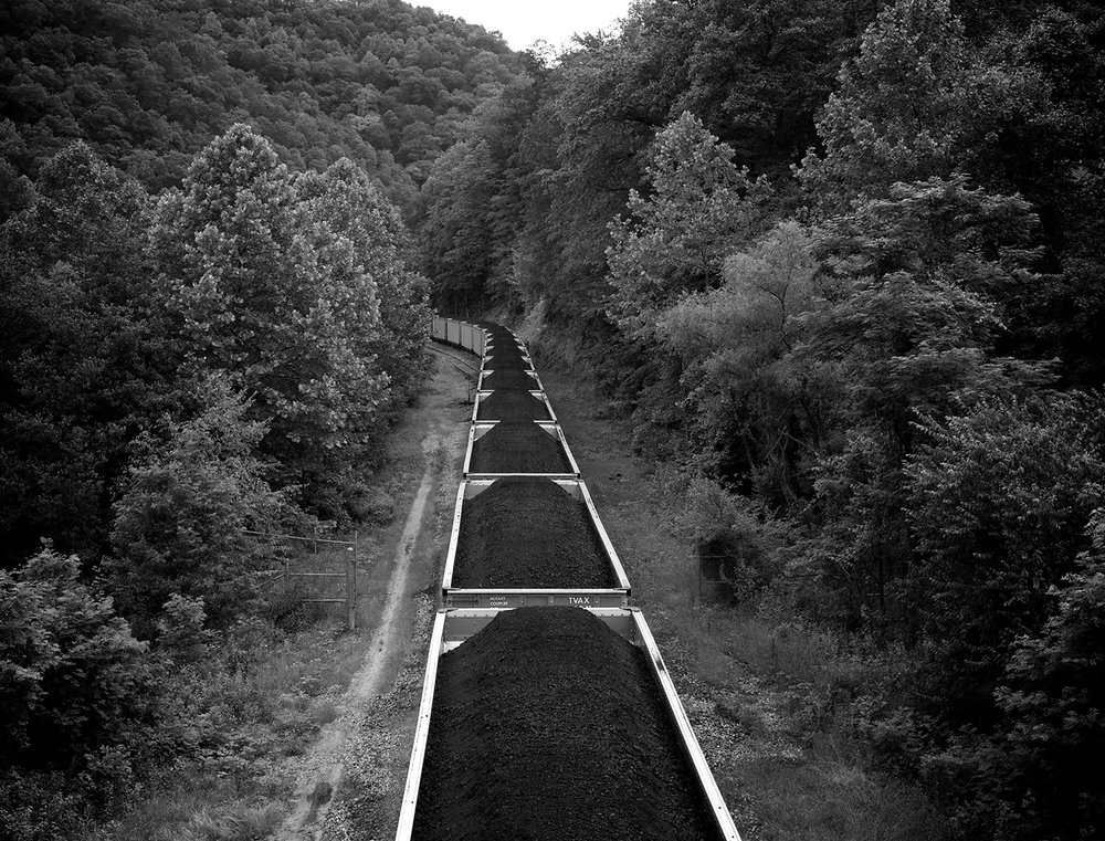 Coal Cars, Wharncliffe, Mingo County, West Virginia, Roger May