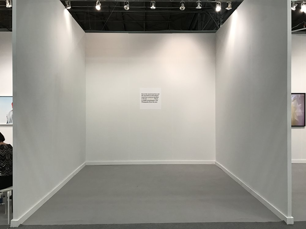 Ag Galerie's booth at AIPAD Photography Show. Photo by the author for Don't Take Pictures.