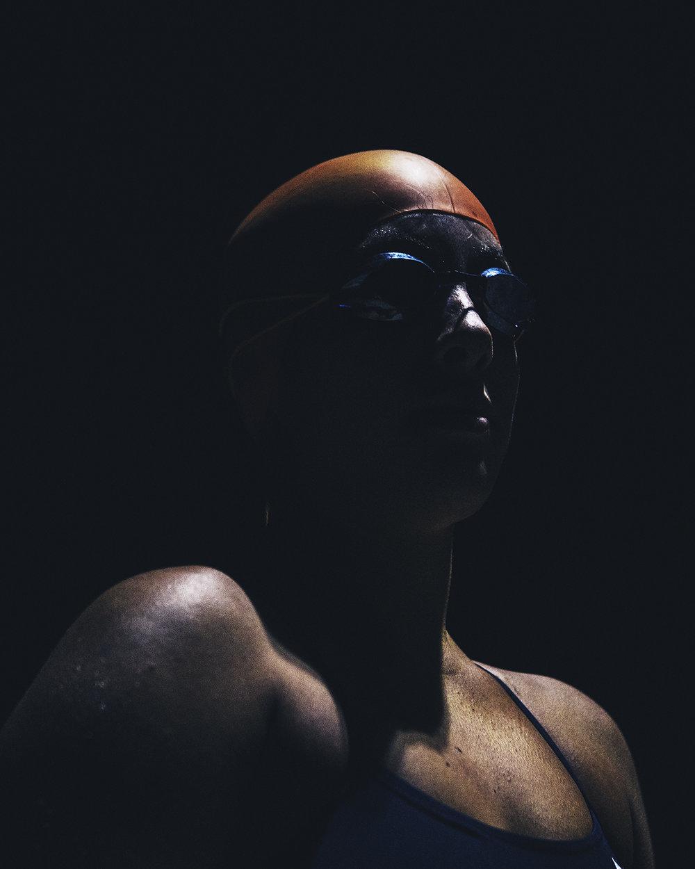 Channel Swimmer ,  Kenny Hurtado