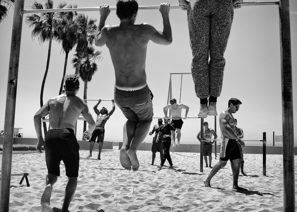 Venice Beach Workout