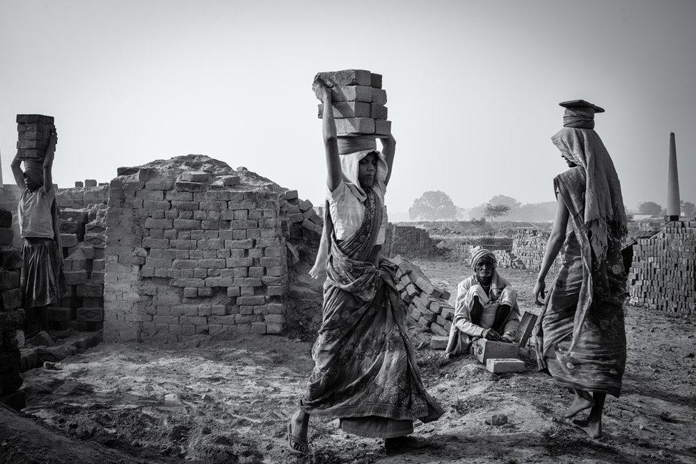 Brick Workers ,  Anja Bruehling