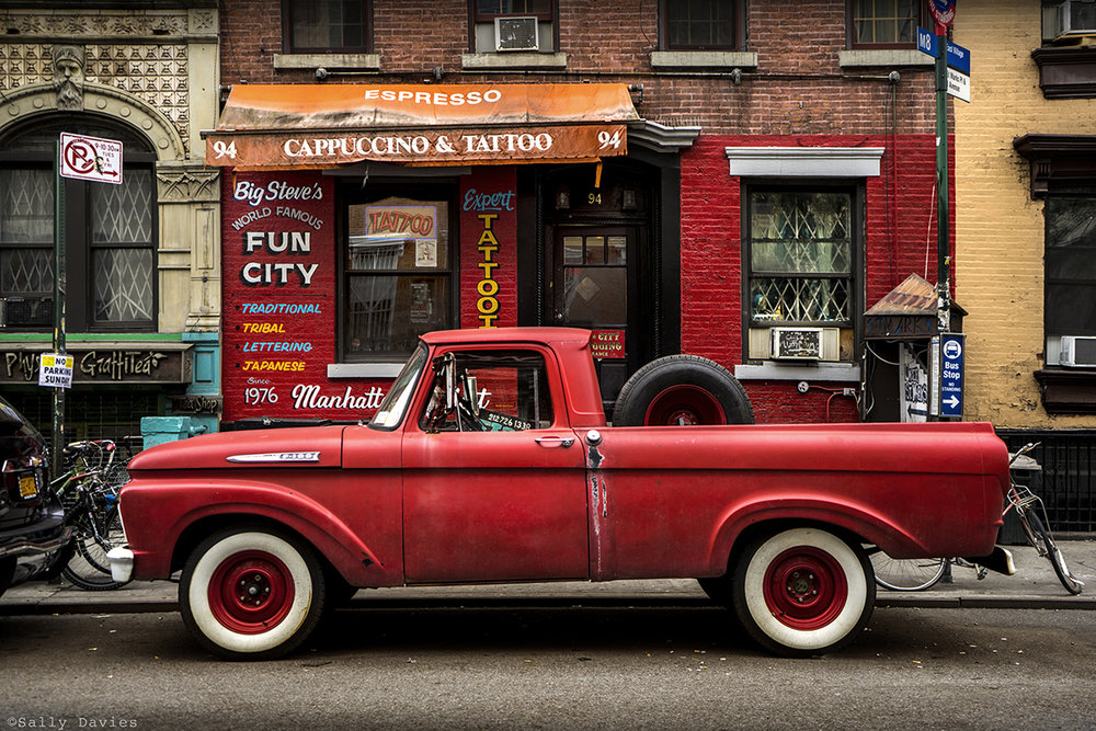 Red Truck Tattoo Parlor