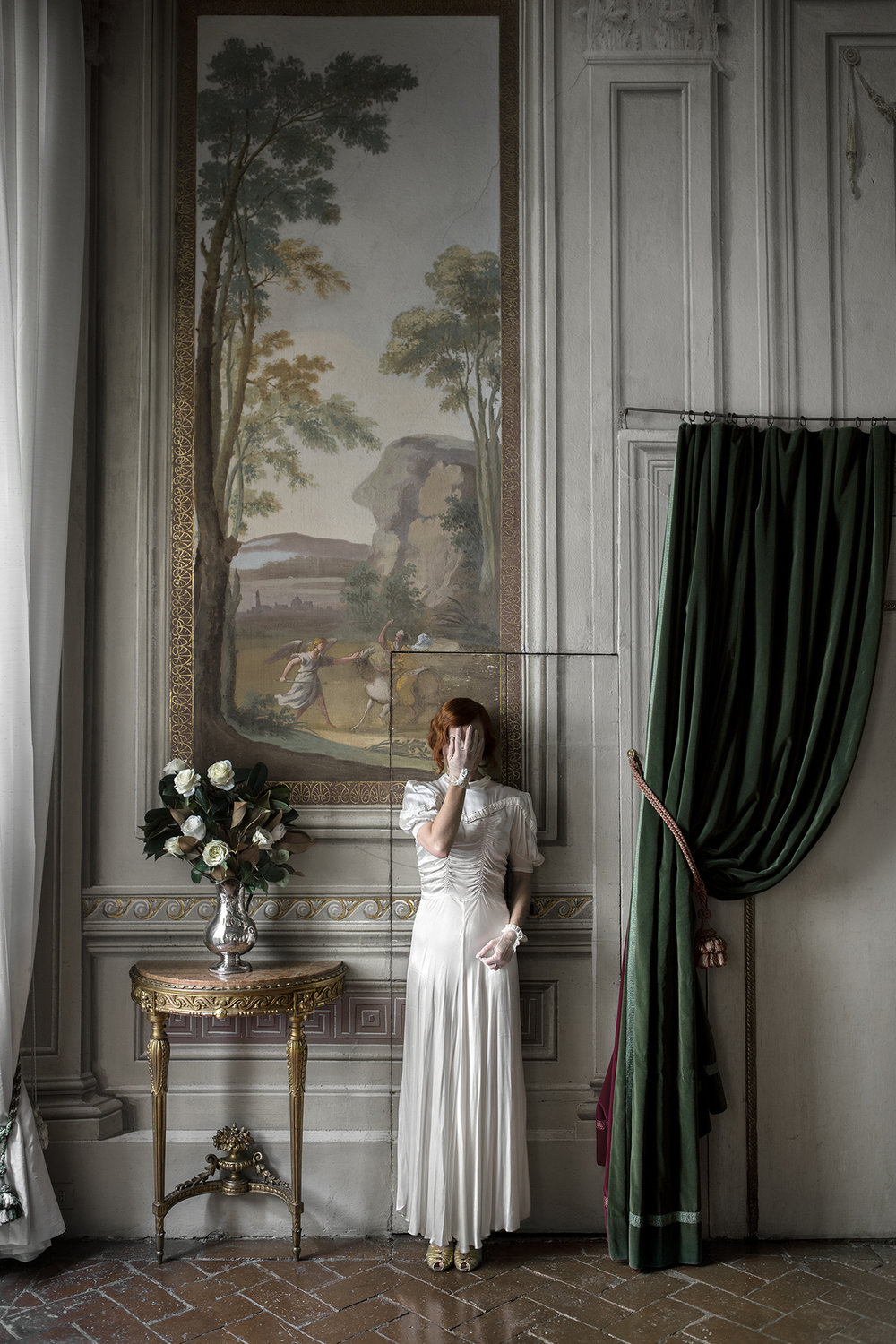 Intermission  from the series  The Woman Who Never Existed, 2016 , by  Anja Niemi , courtesy of  The Little Black Gallery