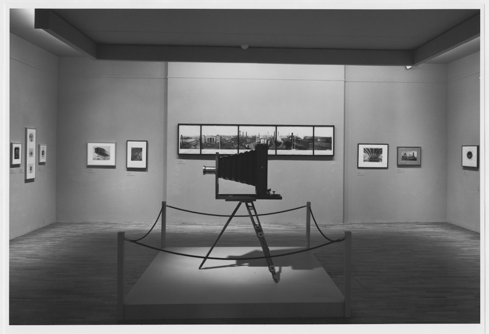 Installation view of the exhibition 'Photography Until Now,' on view February 18, 1990 through May 29, 1990 at The Museum of Modern Art, New York (photo by Mali Olatunji © The Museum of Modern Art, New York, all images courtesy The Museum of Modern Art Archives, New York)