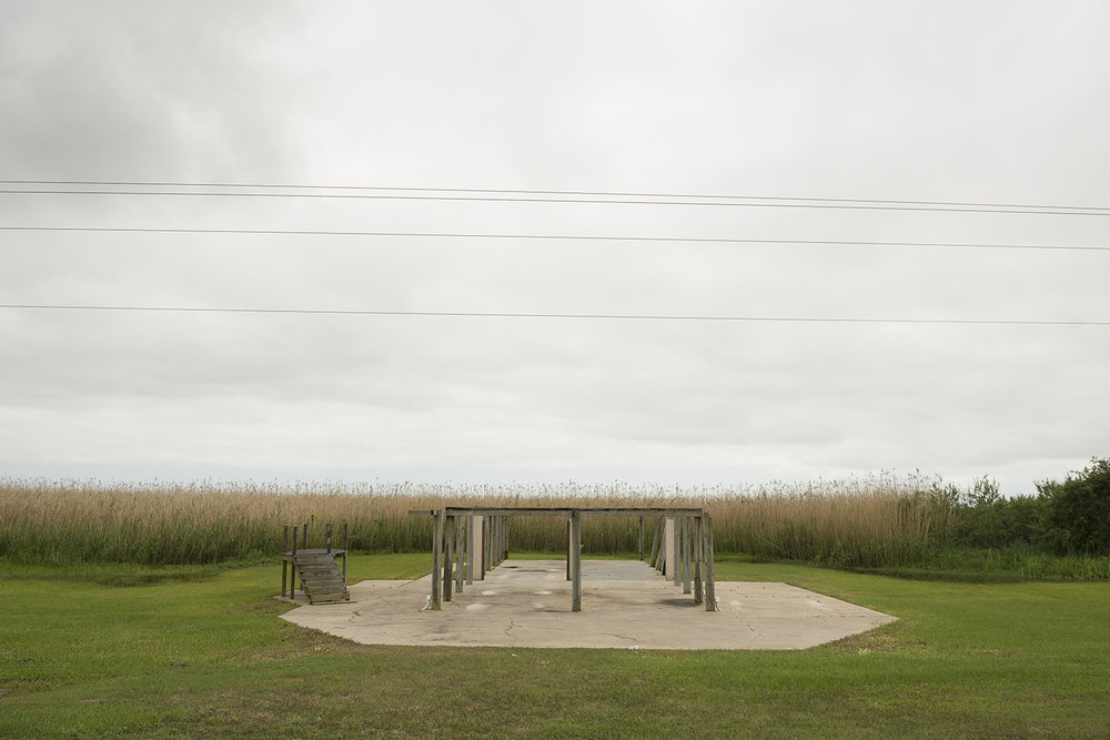 Vacant Stilts, Louisiana, 2015