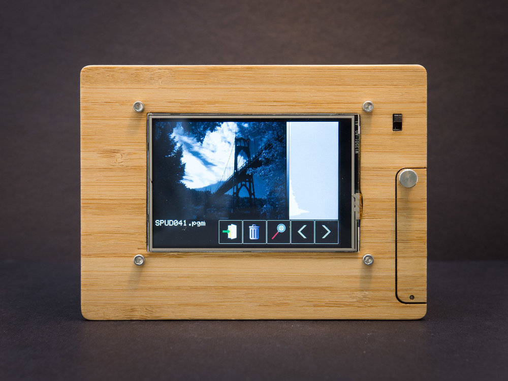 SPUD Camera touchscreen