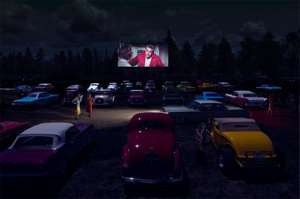 Drive In Theater ,  Chloe Meynier