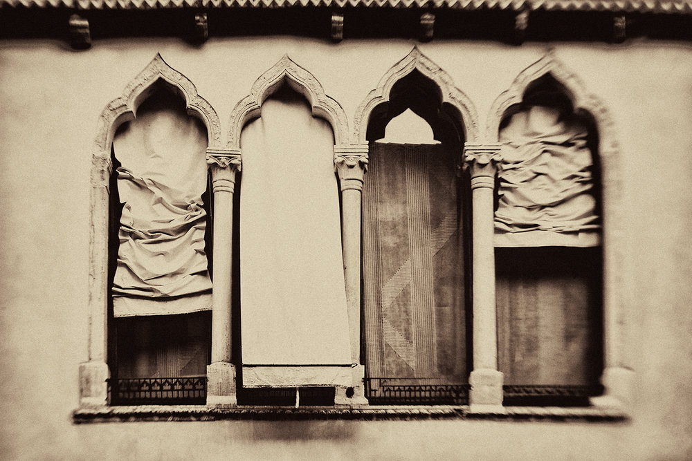 Awnings from the series Lost Venice, Sarah Hadley