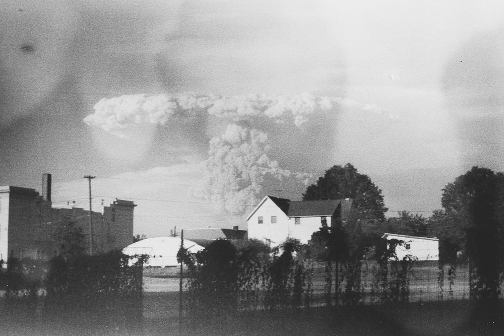 Found film of Mount St. Helens Eruption. Photo courtesy of Kati Dimoff