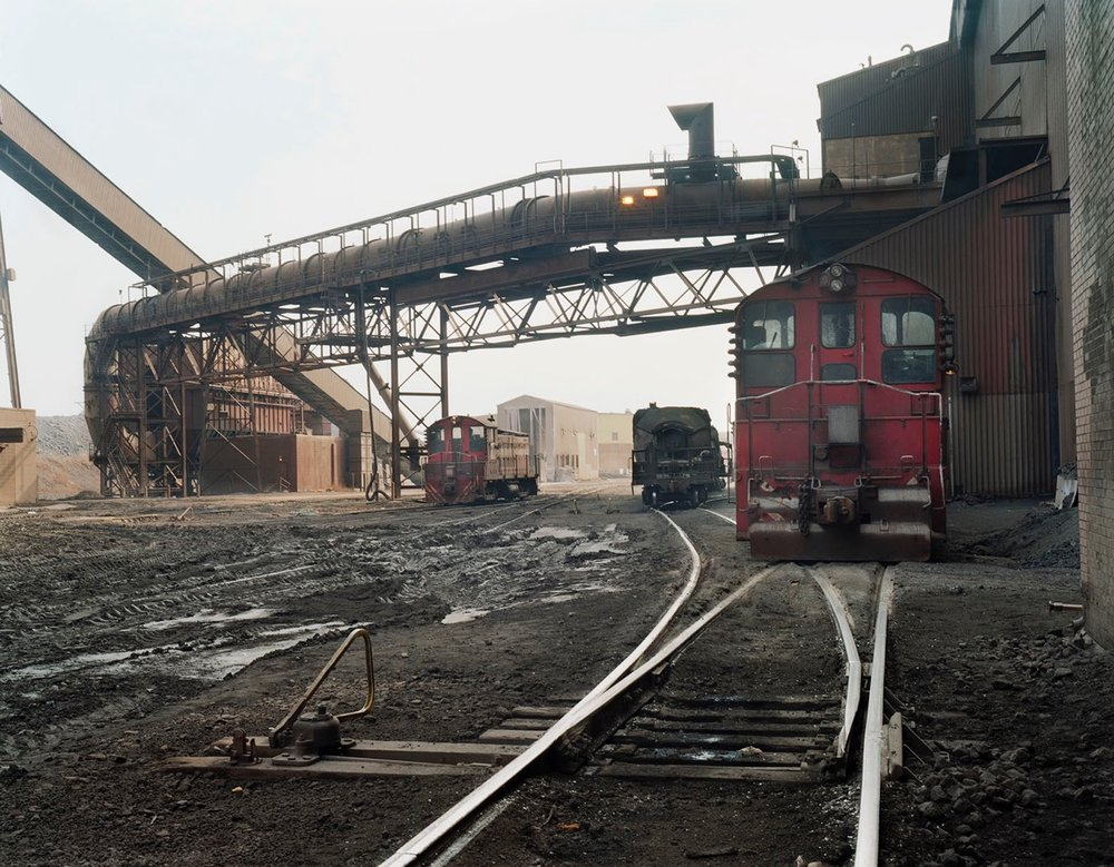 Train Tracks for Steel Productions, East Chicago, Indiana ,  Terry Evans