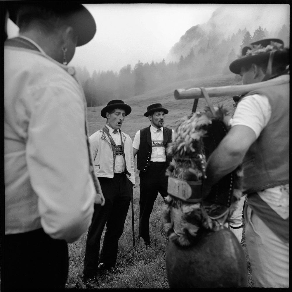 Alpaufzug, Brülisau, Appenzell, 1995