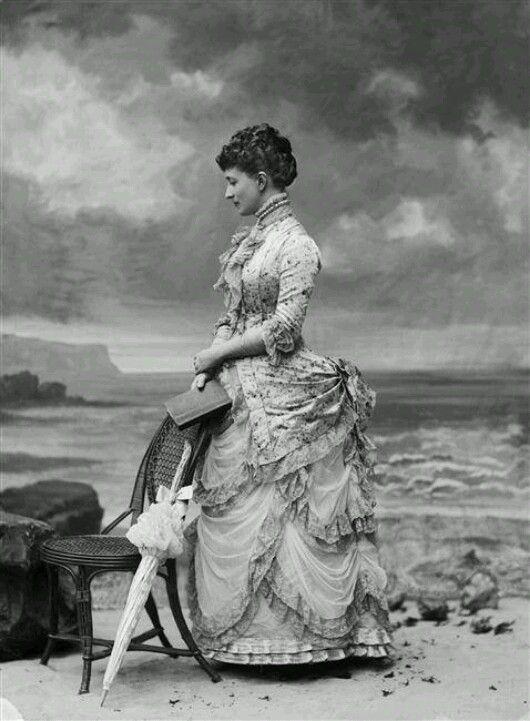 English woman, c. 1882