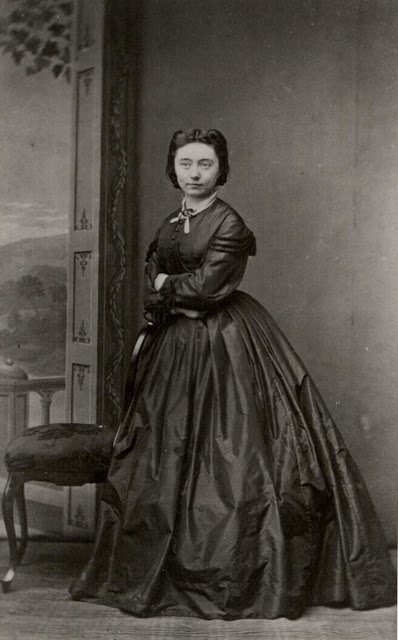A portrait of Nina Hagerup, Norway, c. 1894