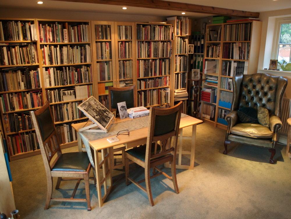 Robert Ashby 's reading room.