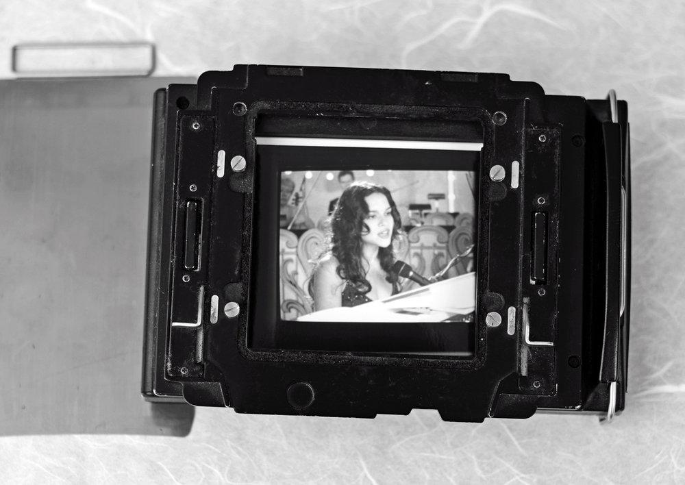 Polaroid capture by T.Voekler, via  Wikimedia Commons