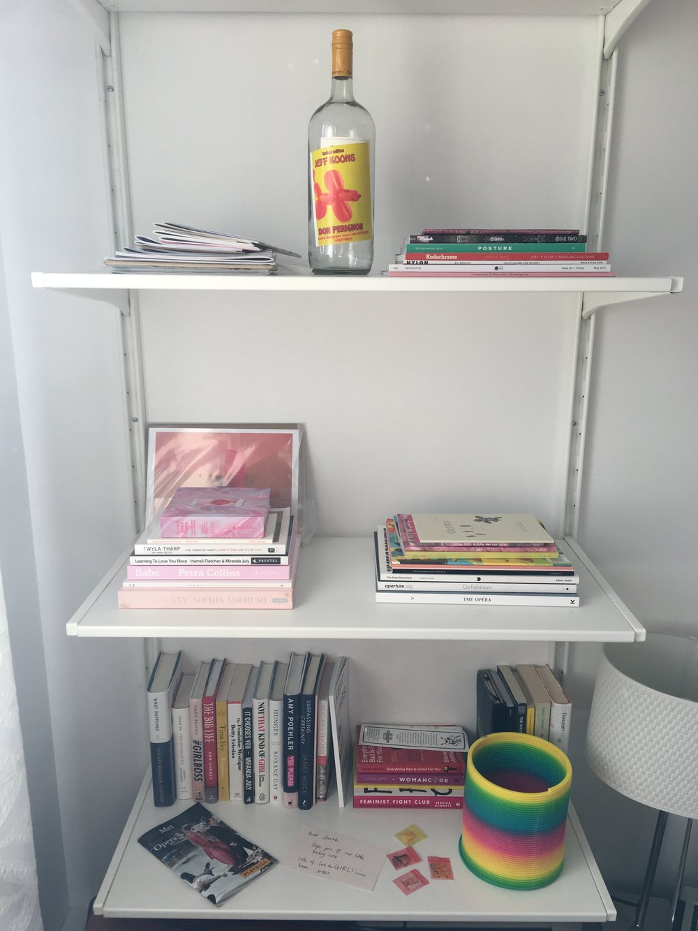 The small but growing photobook library of  Don't Take Pictures ' news editor  Sarah Sickles