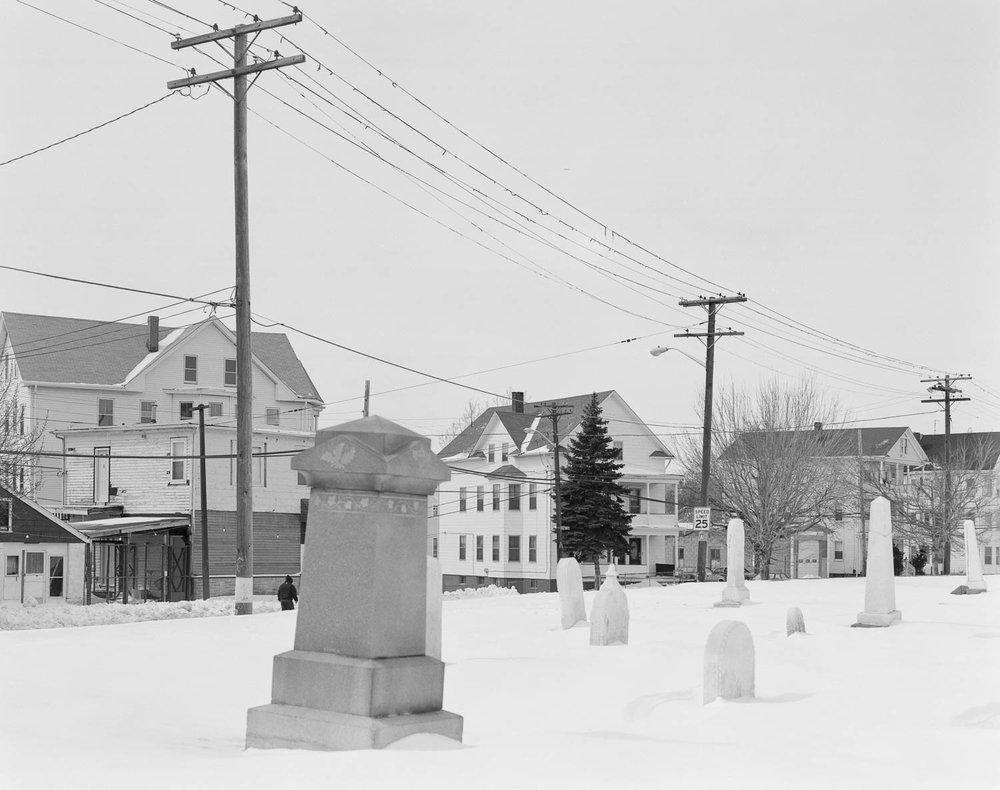 Graveyard, Douglas Ave, Prov. 1994 , Erik Gould