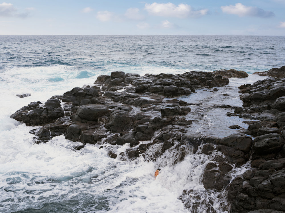 Wang Ying Ocean Swimming, Hawaii, Lucas Foglia, courtesy Fredericks & Freiser Gallery, New York