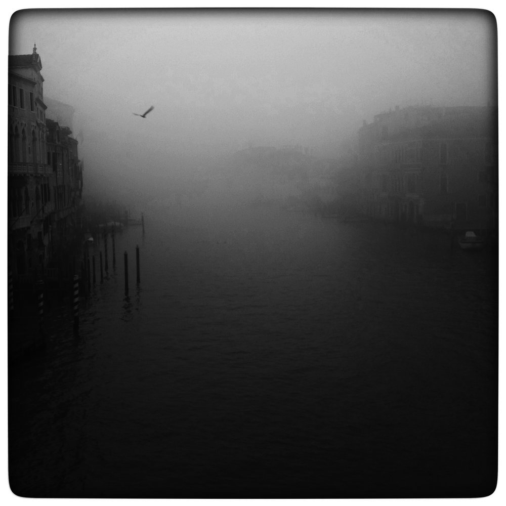 Foggy View from the Accademia ,  Jim McKinniss