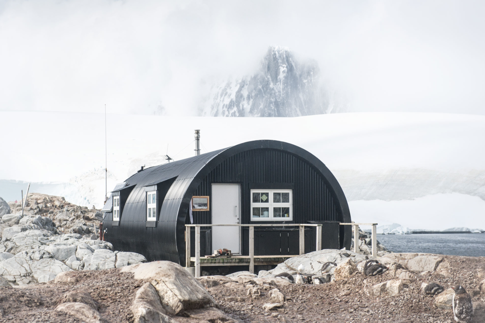 Base A, British research station, Port Lockroy, Goutier Island, Antarctica