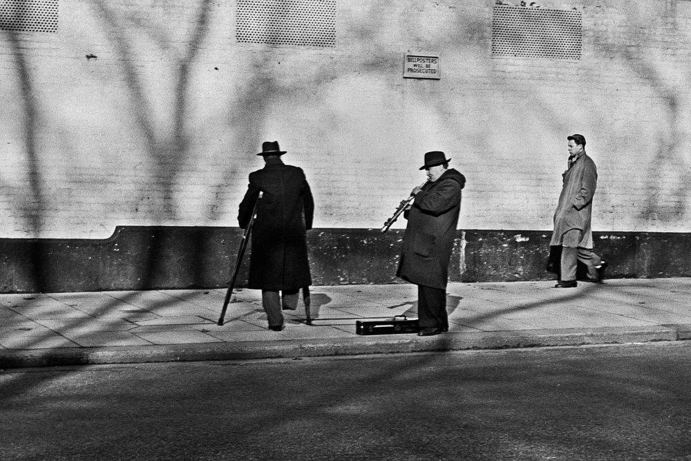 Buskers, London, c. 1950s