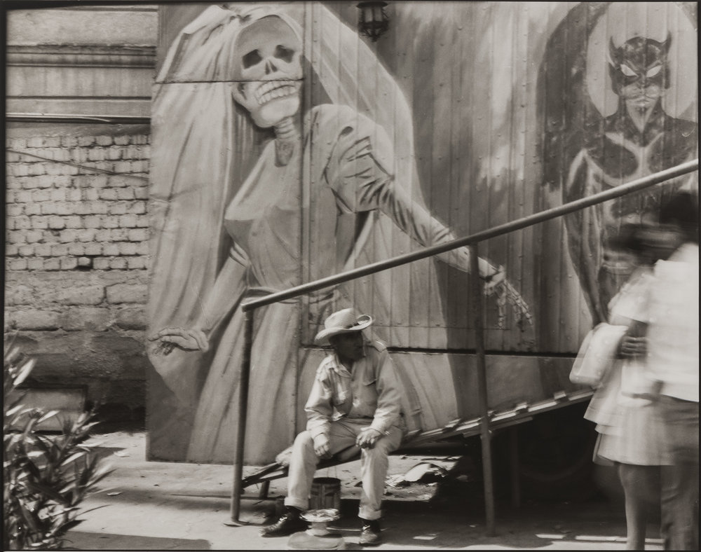 Casa de la Muerte, Ciudad de México , 1975. Graciela Iturbide (Mexican, born in 1942). Photograph, gelatin silver print. Museum purchase with funds donated by John and Cynthia Reed, Charles H. Bayley Picture and Painting Fund, Barbara M. Marshall Fund, Lucy Dalbiac Luard Fund, Horace W. Goldsmith Foundation Fund for Photography, Francis Welch Fund, and Jane M. Rabb Fund for Film and Photography. © Graciela Iturbide. Courtesy, Museum of Fine Arts, Boston