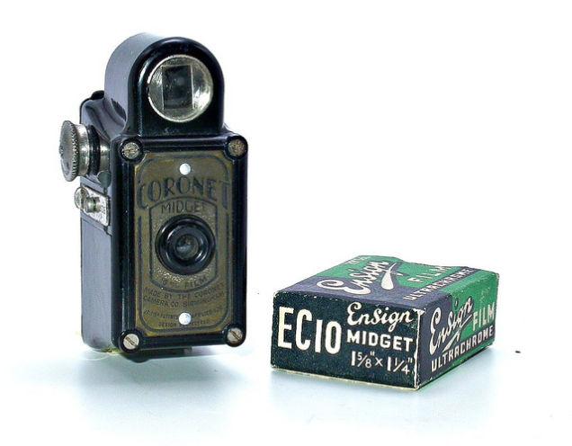 Midget Box Camera