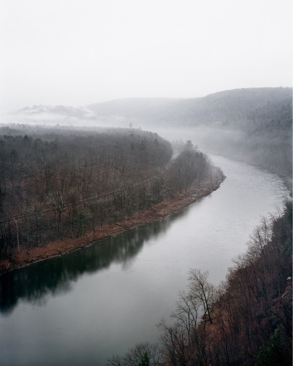 Untitled (Hawk's Nest, Upper Delaware River, 2017) ,  Tyler Roste