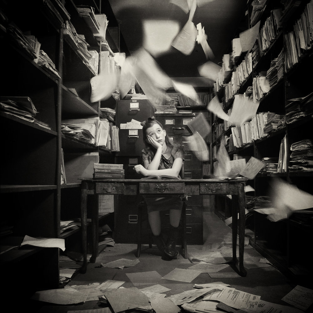 The Lonely Bookkeeper ,  Carolyn Hampton