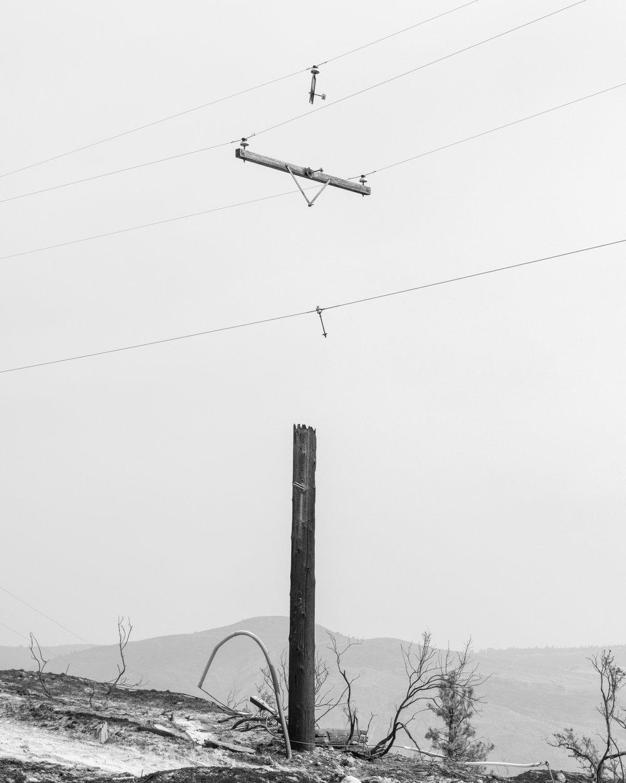 Okanogan Complex, Azwell, WA, 2015 ,  Garrett Grove