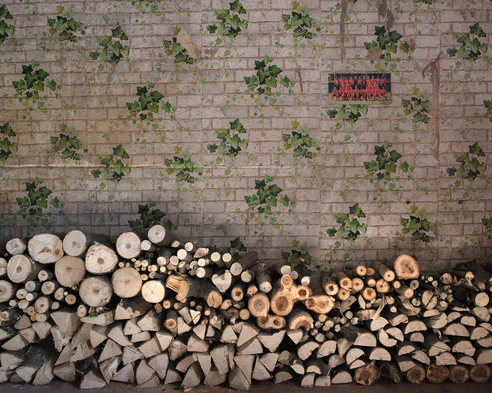 Sergei's Stockpile of Wood in Avdiivka ,  Tim Eastman