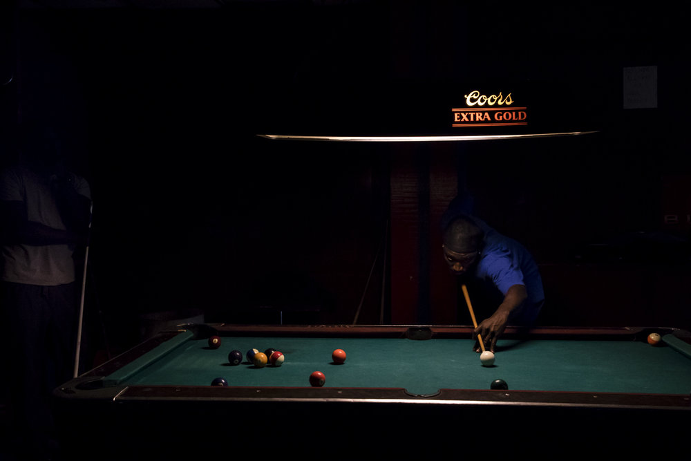 Pool Hall  from the series  In the Delta ,  Caren Winnall