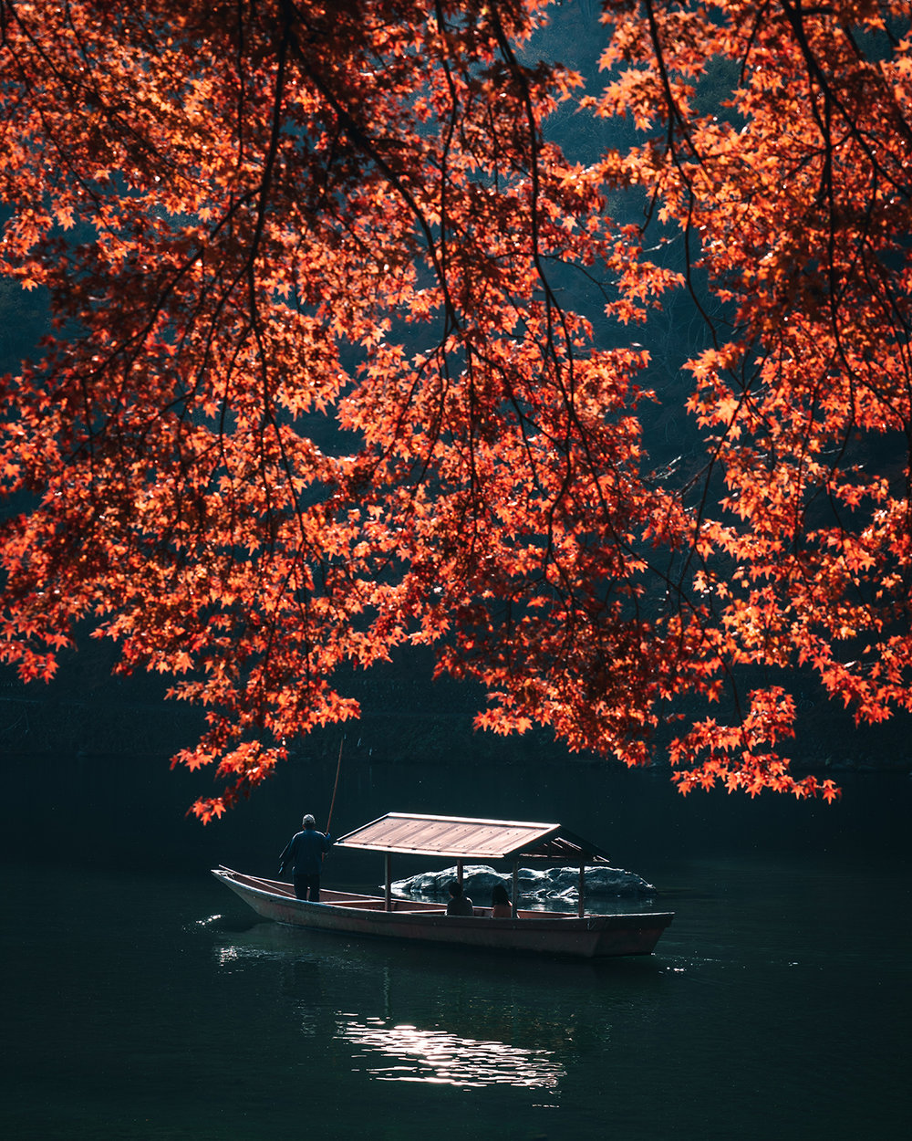 Slow down and enjoy the Kyoto journey in Autumn ,  RK