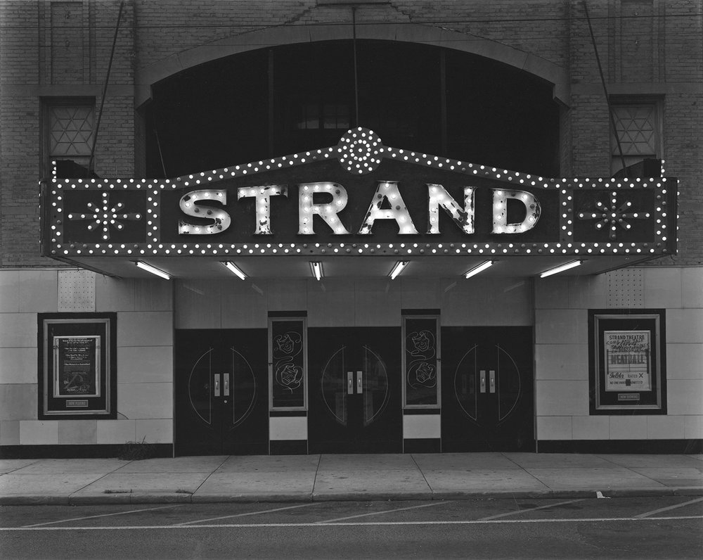 Strand Theater, Keyport, New Jersey, 1973