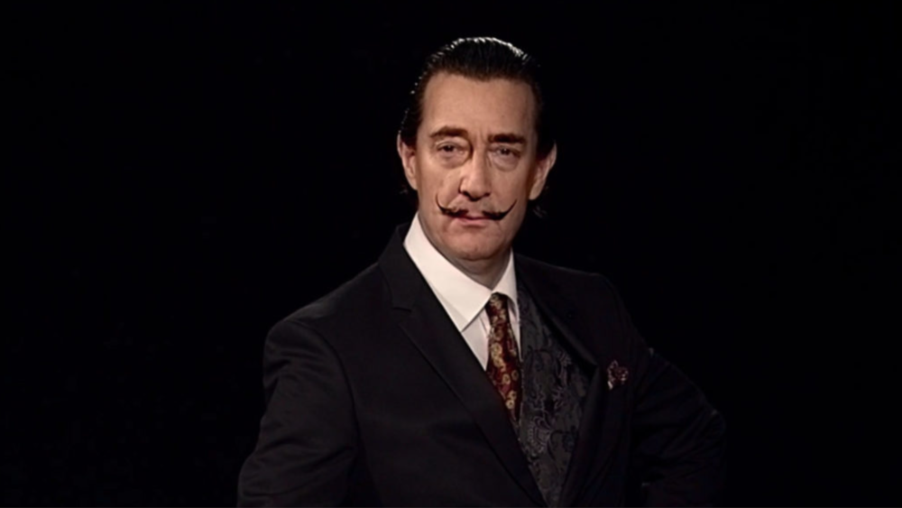 "Still from a teaser of ""Dalí Lives."""