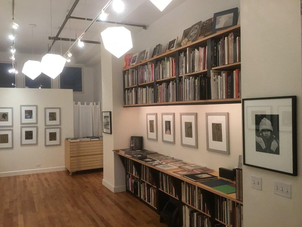 Tim Whelan's new store at Maine Media Workshops.
